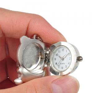 Pendant Children Keychain Watch Necklace -