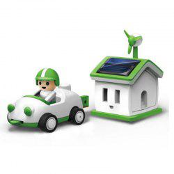 Solar Toy Green Life Rechargeable Kit Car Children Kids Game Gift -