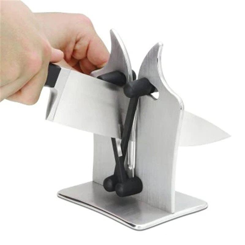 Chic Professional Knife Sharpener Solid Stainless Steel and Austrian Tungsten Carbide