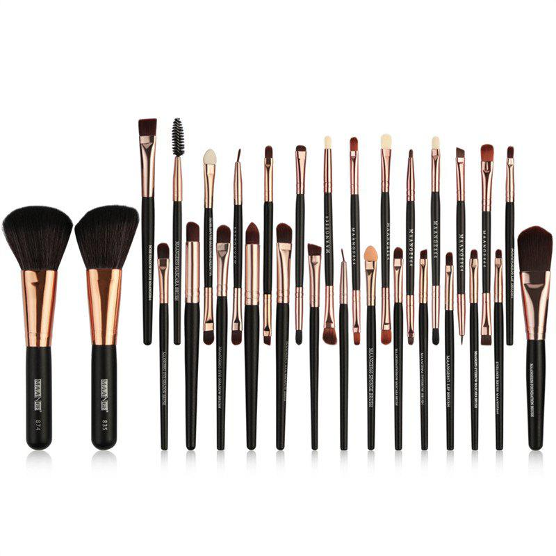 Cheap 30PCS Wooden Handle Makeup Brush Set