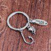 L'Europe et l'Amérique Creative Keychain Father Day Gift -