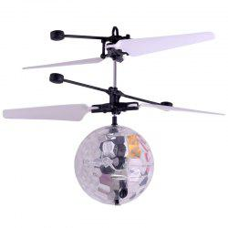 New Unique Suspension with Lighting Intelligent Induction Crystal Ball Aircraft -