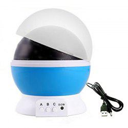 Stars Starry Sky LED Night Light Projector Moon Lamp Battery USB -
