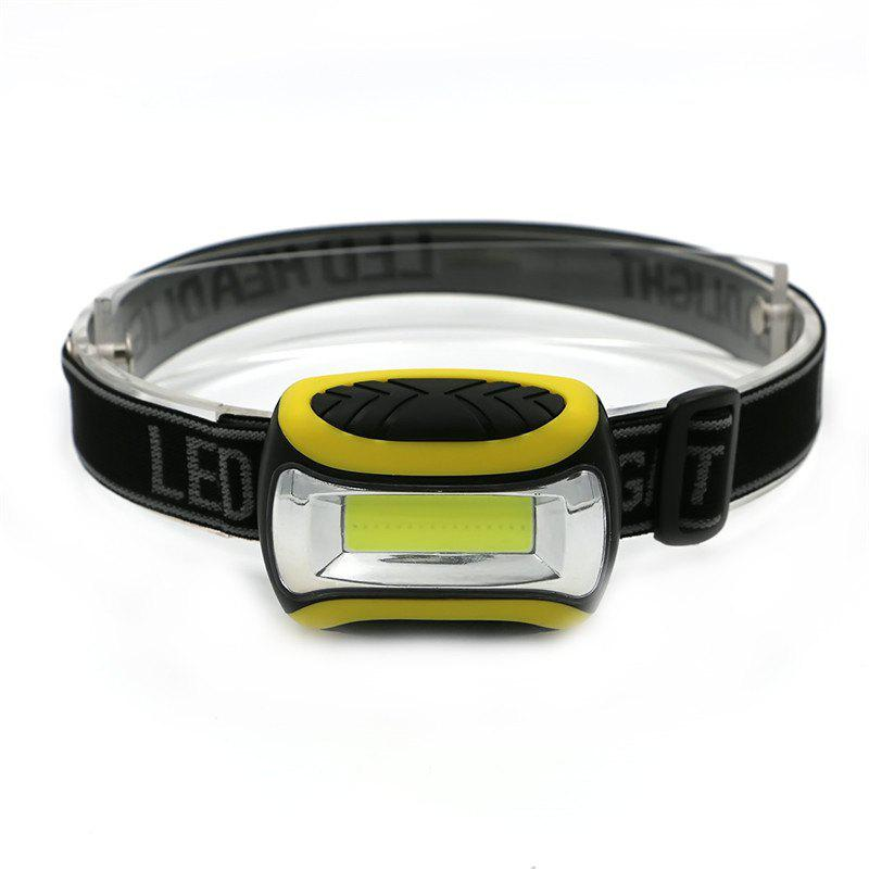 Outfits 3 Modes Waterproof COB LED Flashlight Outdoors Headlight Headlamp
