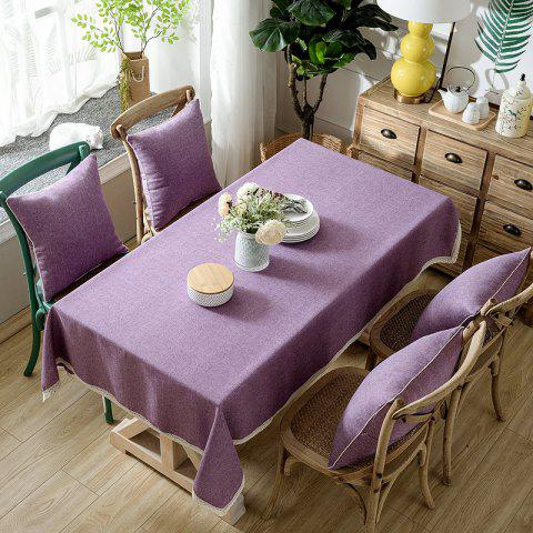 Fancy Solid Color Simple Thickened Table Cloth