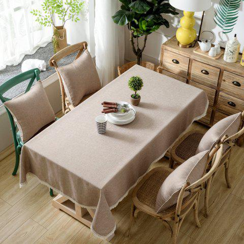 Chic Solid Color Simple Thickened Table Cloth