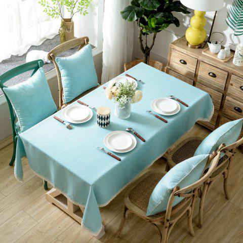 Online Solid Color Simple Thickened Table Cloth
