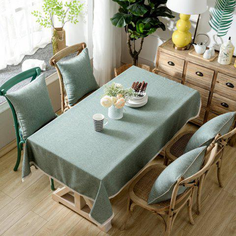 Latest Solid Color Simple Thickened Table Cloth