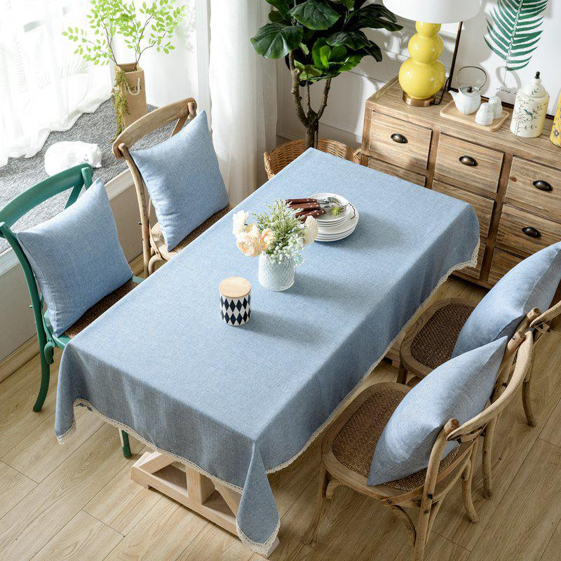 Discount Solid Color Simple Thickened Table Cloth