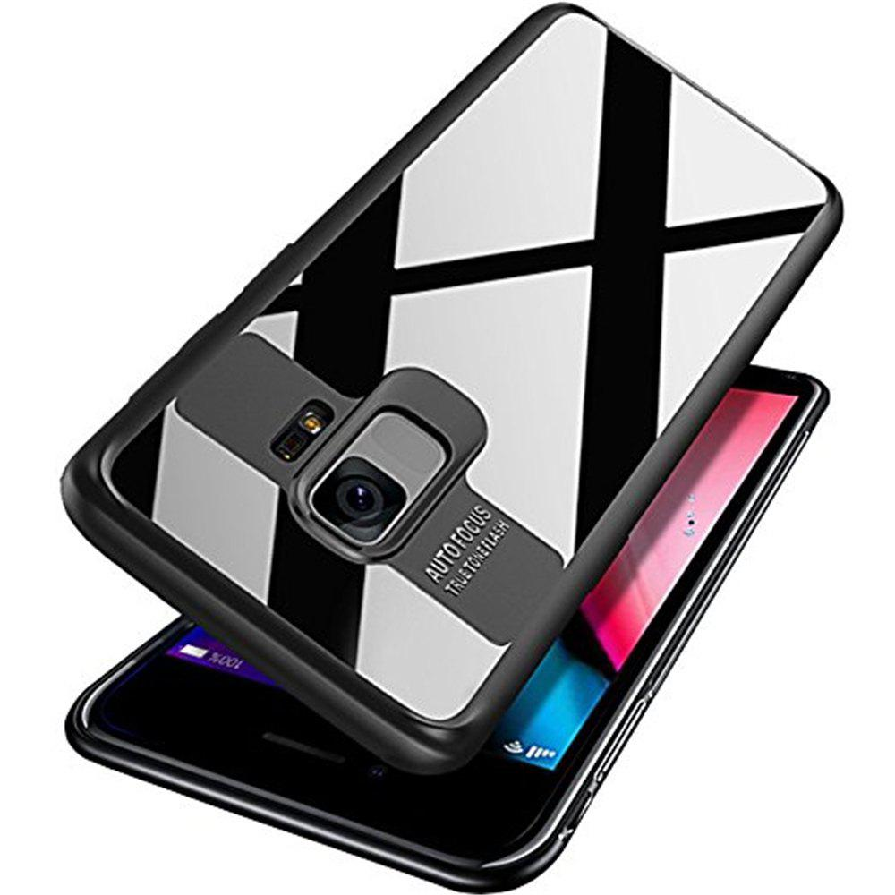 Sale Luxury TPU + Acrylic Transparent Back Cover for Samsung Galaxy S9