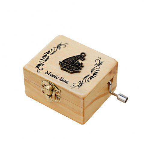 Hot Creative Home Decoration Wooden Hand-made Music Box