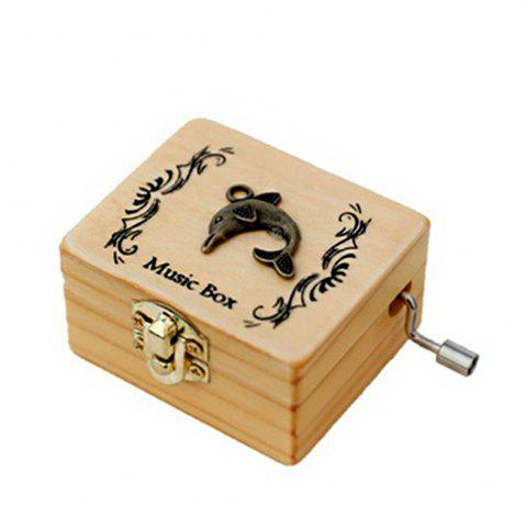 Latest Creative Home Decoration Wooden Hand-made Music Box