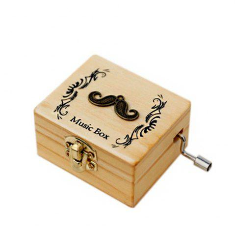 Outfits Creative Home Decoration Wooden Hand-made Music Box