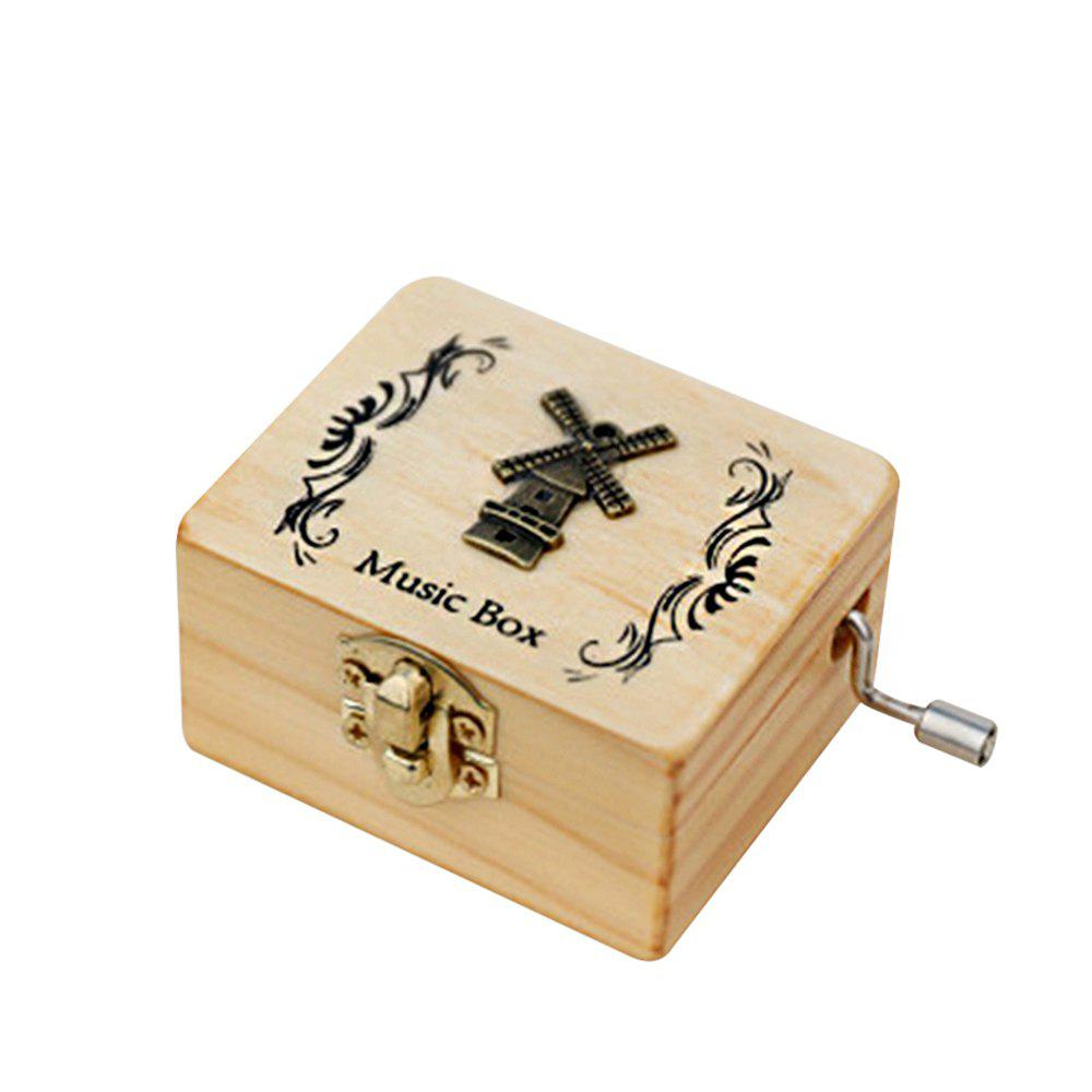 Best Creative Home Decoration Wooden Hand-made Music Box