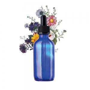 Glass Bottles Set 60ML with Droppers 4pcs -