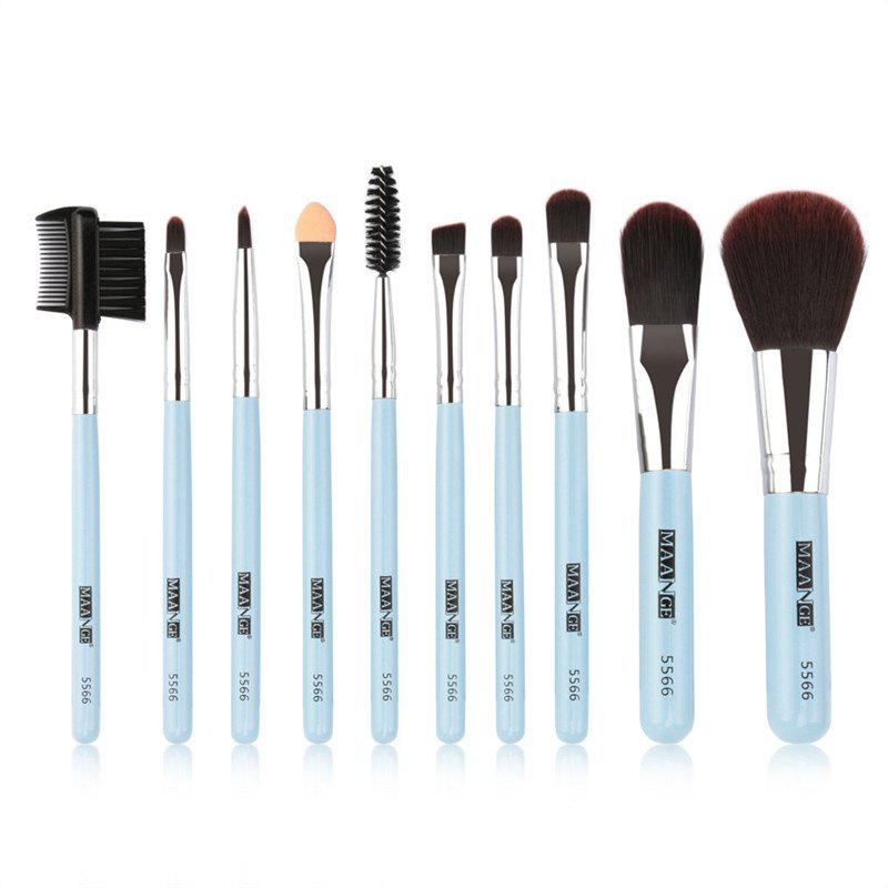 Outfit 10PCS Portable Makeup Brush Set
