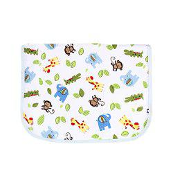 Bamboo Fiber Three-Layer Composite Double-Sided Baby Waterproof Urine Pad -