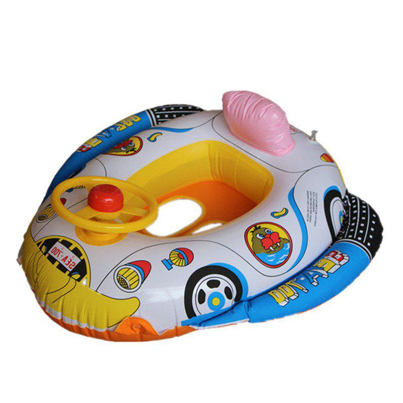 Inflatable Children Swimming Ring Seat Pool Floating Boat 272187201