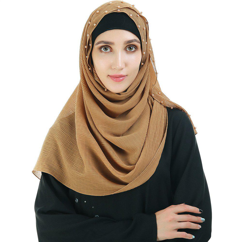 Outfit Fashionable Versatile Solid Color Headwear Scarf