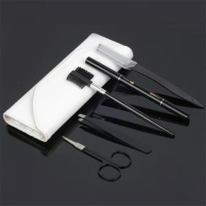 Stainless Steel Eyebrow Shaping Knife 5 Pieces Suit -