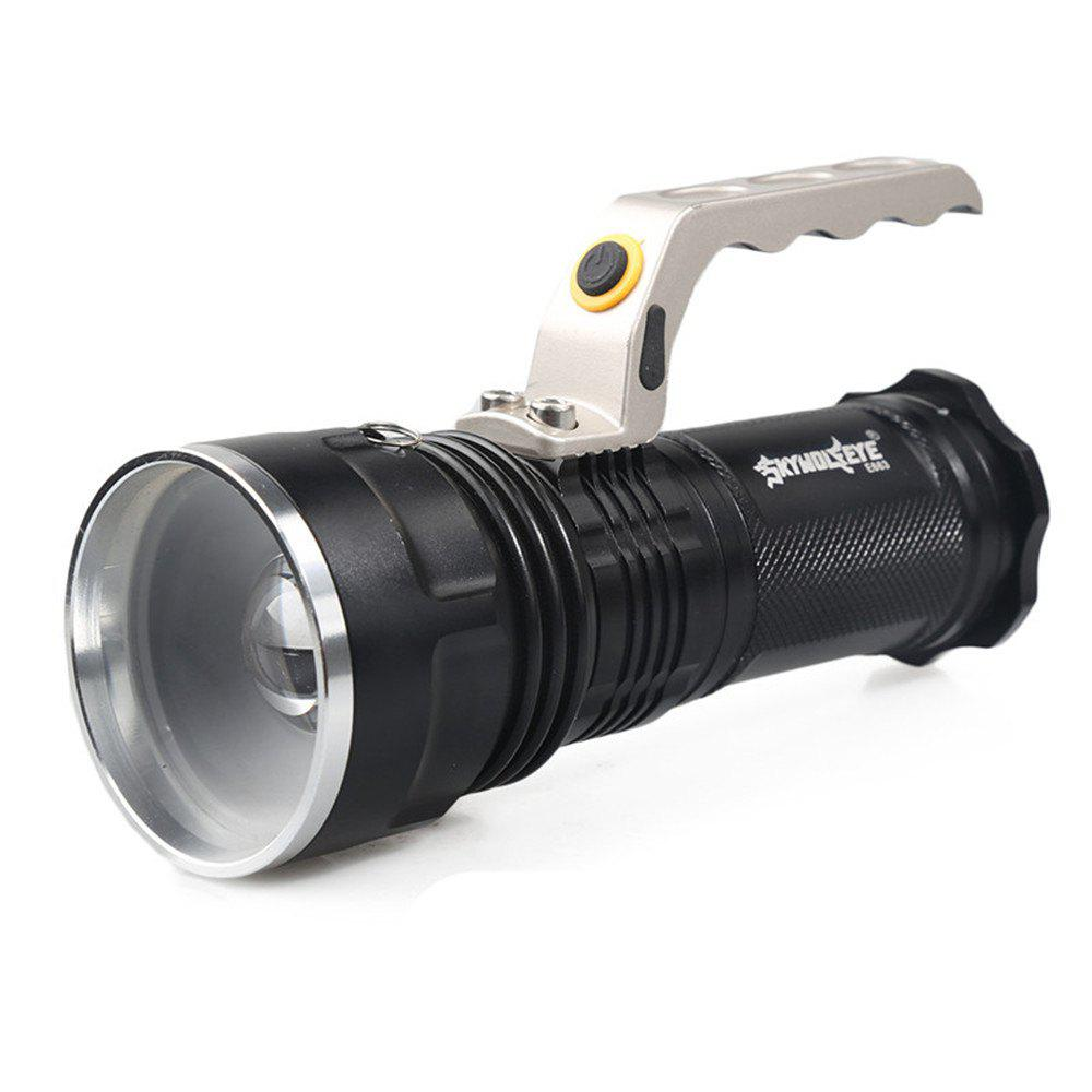 Online LED Searchlight Tactical Flashlight 1200 Lumen Waterproof Handheld Floodlight