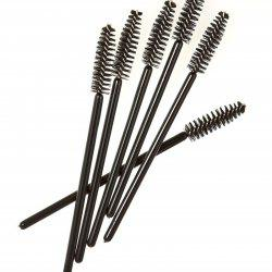 5PC Eyelash Brushes Disposable Multi-Use Mini Nylon Cleaning Brushes -
