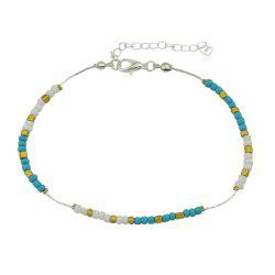 Colorful Beads Anklets Summer Barefoot Jewelry for Women -
