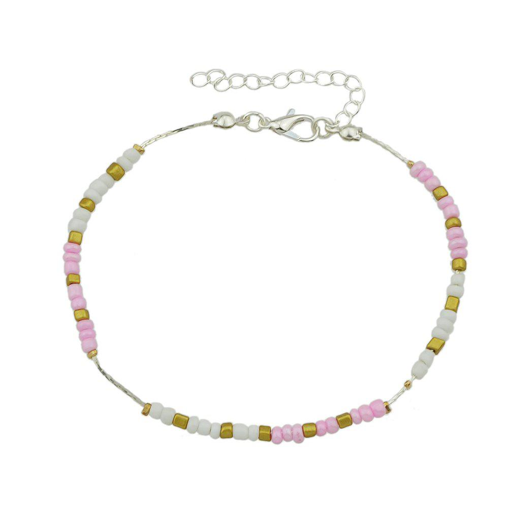 Buy Colorful Beads Anklets Summer Barefoot Jewelry for Women