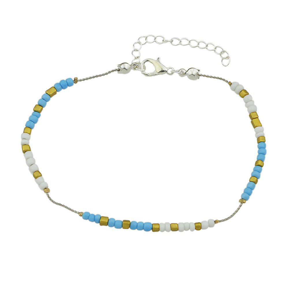 Hot Colorful Beads Anklets Summer Barefoot Jewelry for Women