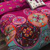 Bohemian Mandala Duvet Cover with Pillow Case Quilt Bedding Set -