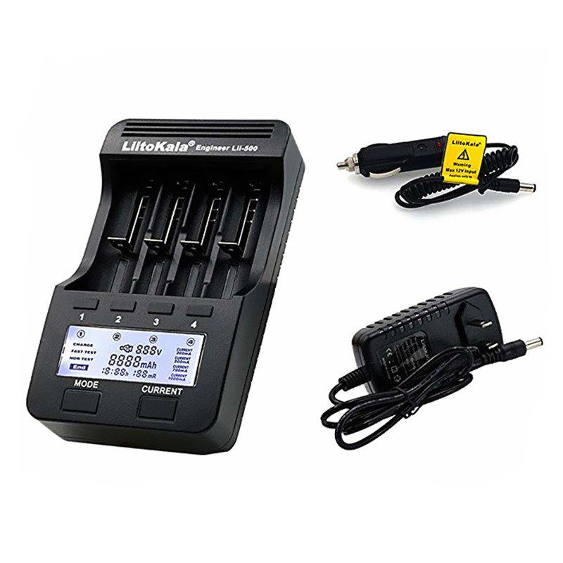 Best lii-500 18650/26650 Lithium Battery Charger with LCD Display