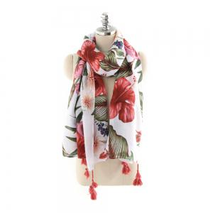 Soild Color Fashion - Foulard en lin et coton -