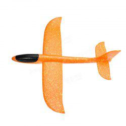 Hand-throwing Foam Glider Color Revolving Children Model Aircraft Toy -