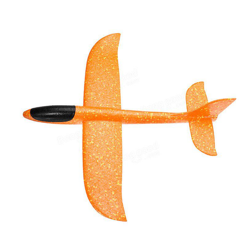 Outfits Hand-throwing Foam Glider Color Revolving Children Model Aircraft Toy
