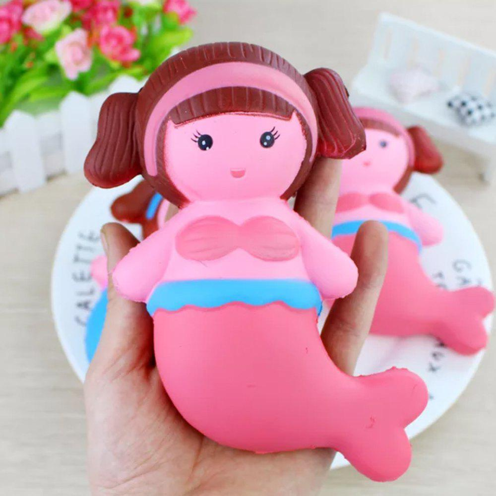 Outfit Jumbo Squishy Mermaid Toys