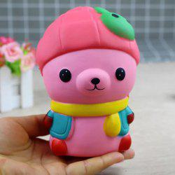 Jumbo Squishy Bear with Rabbit Hat Toys -