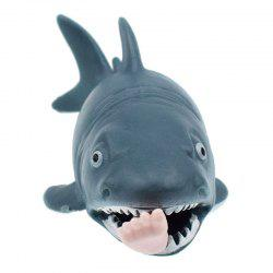 Jumbo Squishy Extrusion Simulation Shark Venting Toy -