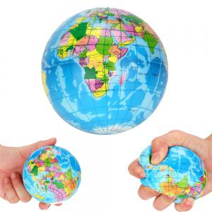 10cm Globe Ball Anti Stress for Adults Kids Squeeze Jumbo Squishy Toy -