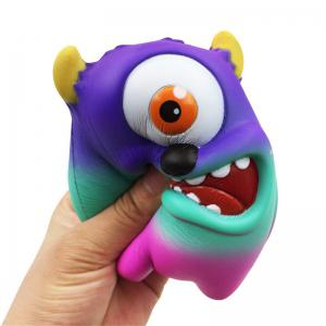 Jumbo Squishy Simulation One-eyed monstre pressé décompression jouet -