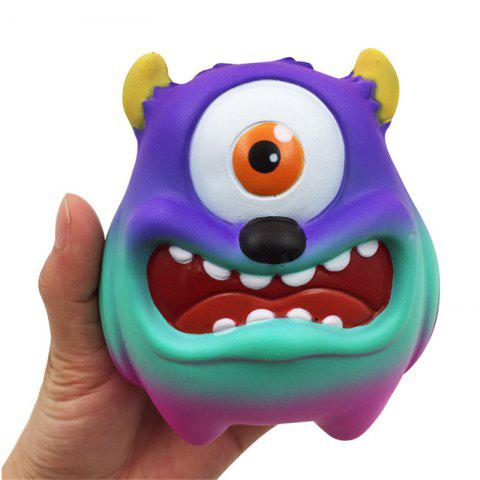 Jumbo Squishy Simulation One-eyed monstre pressé décompression jouet