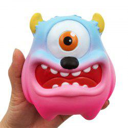 Jumbo Squishy Simulation One-eyed Monster Squeezed Decompression Toy -
