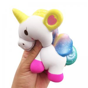 Jumbo Squishy Simulation Cute Unicorn Squeezed Decompression Toy -