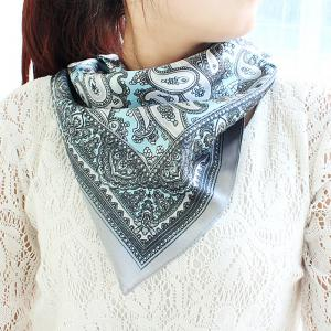 Chinese Style Printing Square Scarf -