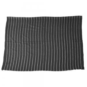 Newest Fold Yarn-Dyed Striped Wrinkled Warm Soft Scarves for Men -