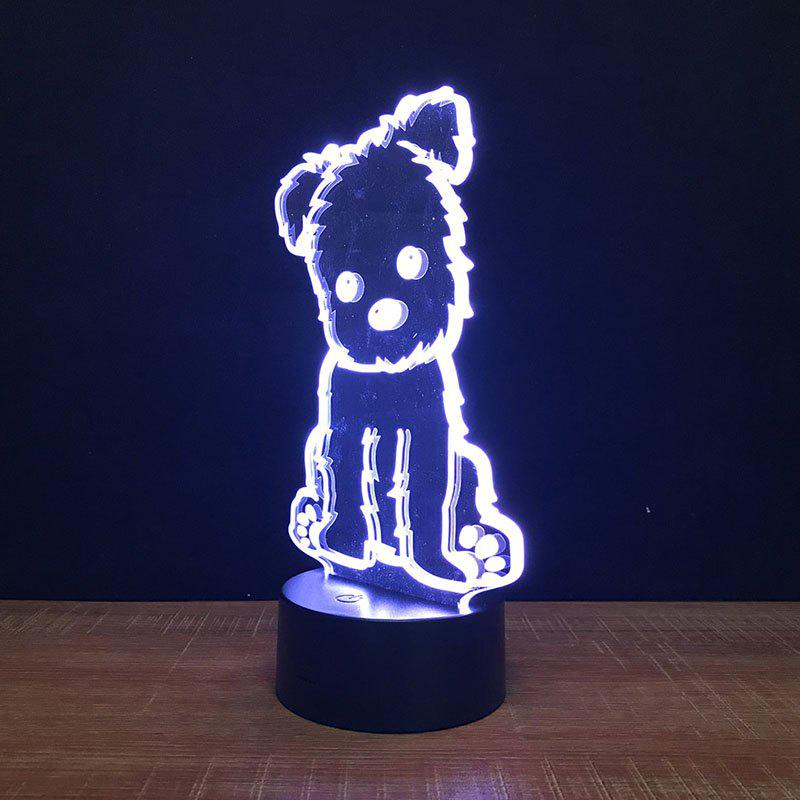 Outfits Dog Touch Colors Changing LED Night Light