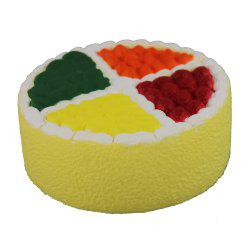 Jouets Jumbo Squishy Fruit Cake -