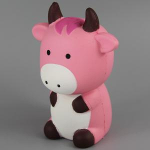 Jumbo Squishy Pink Cow Toys -