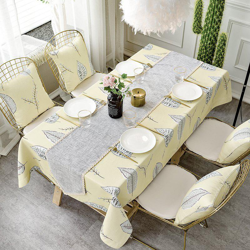 Fancy Double-Faced Tablecloth with Modern and Simple Style