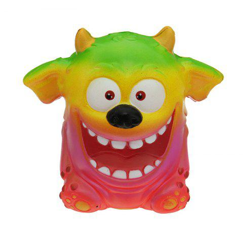 Outfit Mouth Monster Jumbo Squishy Slow Rising Cartoon Gift Collection Soft Toy