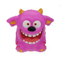 Mouth Monster Jumbo Squishy Slow Rising Dessin animé Cadeau Collection Peluche -